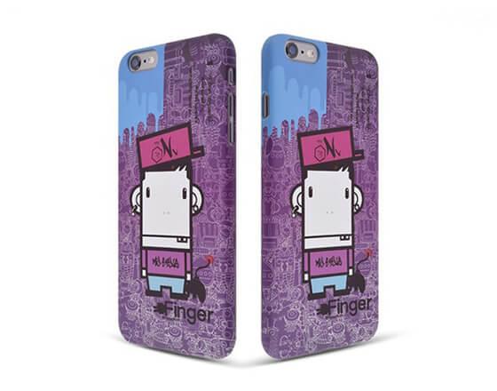 Sublimation 3D Phone Case for iphone 6 plus