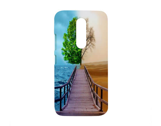 Sublimation 3D Phone case for Moto M
