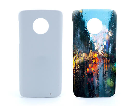 Sublimation 3D Phone case for MOTO G6+