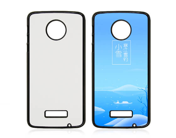 Sublimation 2D PC Phone Case for MOTO Z Force