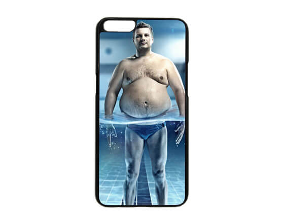 Sublimation 2D PC Phone Case for OPPO R9S