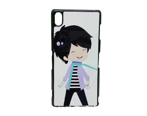 Sublimation 2D PC Phone Case for Sony Z3
