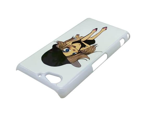 Sublimation 2D PC Phone Case for Sony Z2 Mini