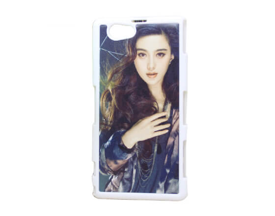 Sublimation 2D PC Phone Case for Sony Z1 Mini