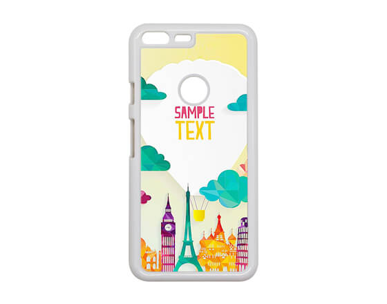 Sublimation 2D PC Phone Case for HTC Pixel XL