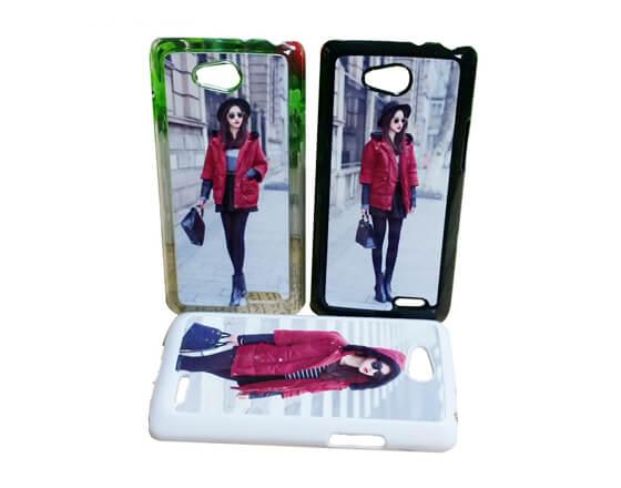 Sublimation 2D PC Phone Case for LG L90