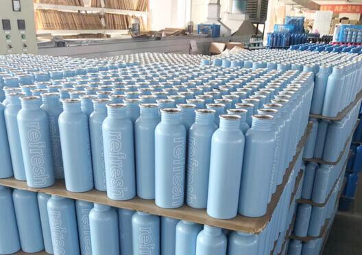 Stainless steel bottle factory