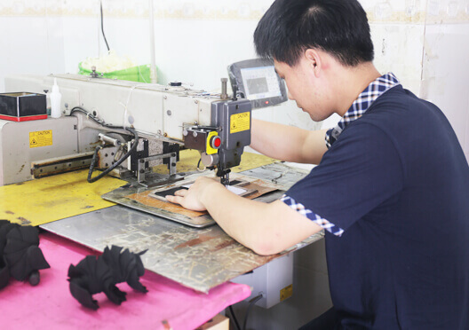 Leather mobile phone factory