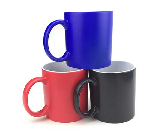 11oz Matt Color Changing Mug