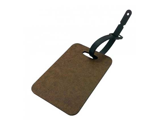 MDF Luggage tag