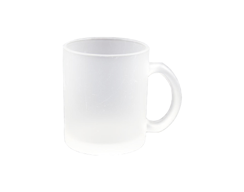 11oz Glass Mug (Frosted)