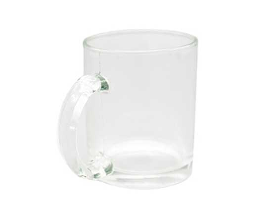11oz Glass Mug (Clear)
