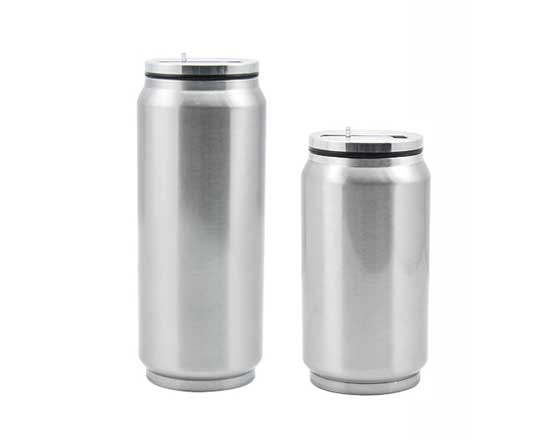 12oz-or-17oz-Stainless-Steel-Coke-Can-with-Straw(Silver)