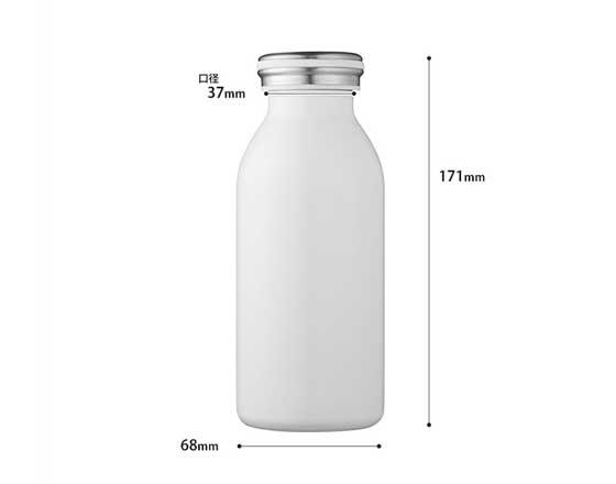 350ml&500ml Sublimation Stainless Steel Milk Bottle