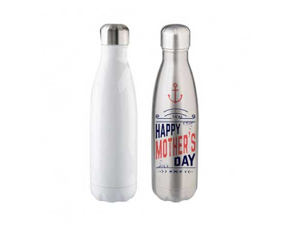 500ml Stainless Steel Coka Shaped Bottle