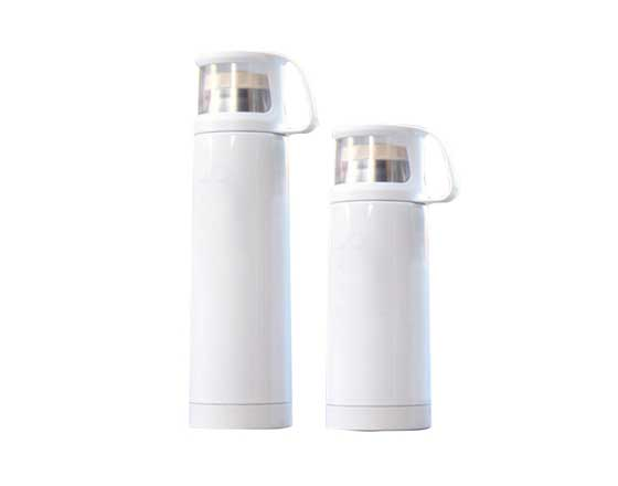 Transparent lid Thermos Cup