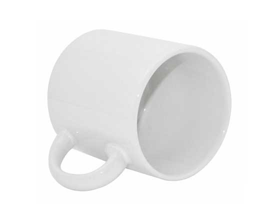 6oz White Coated Mug