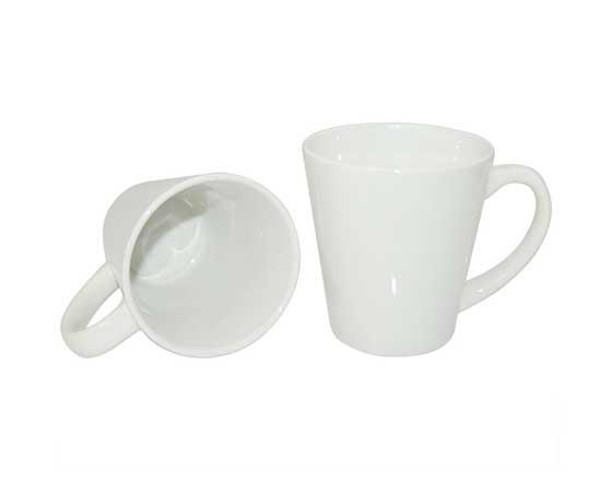 12oz Latte Mug(Cone-shape)