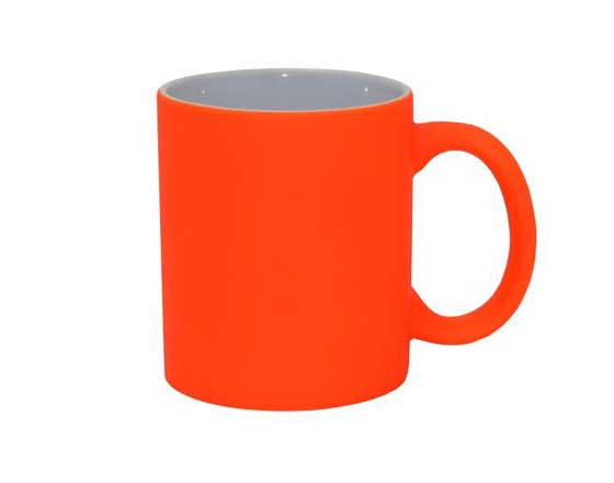 11oz Fluorescent Mug (Matte Color Mug)