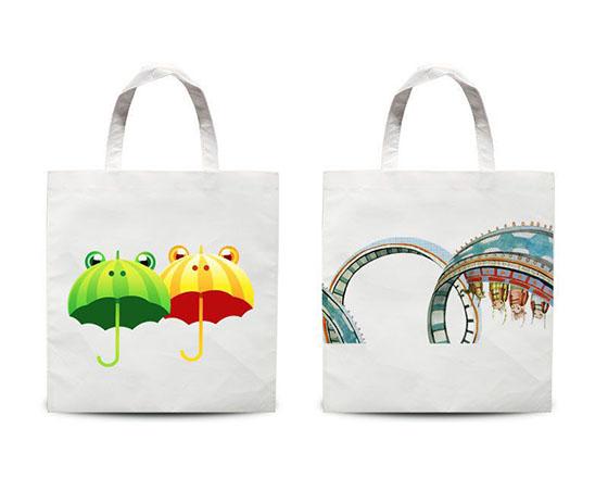 Sublimation Customized Printable Blank Non-woven Shopping Bag