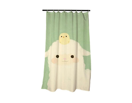 Sublimation Shower curtains
