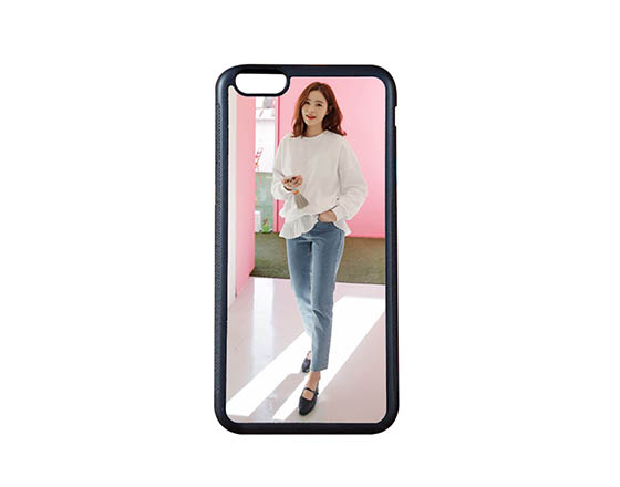 Sublimation 2D TPU Phone case for iPhone6 Plus