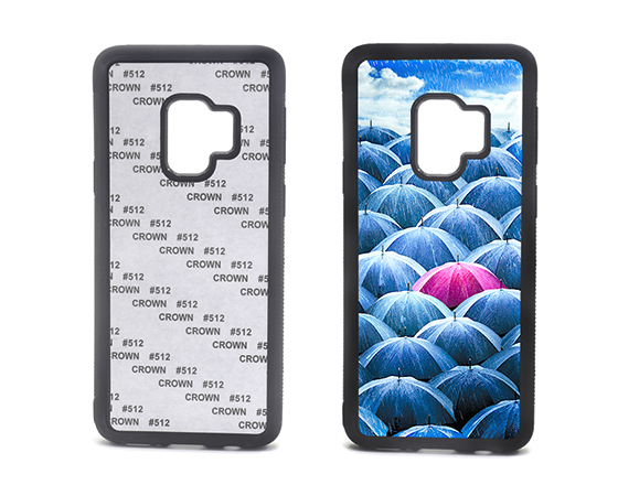 Sublimation 2D TPU Phone case for Samsung S9+