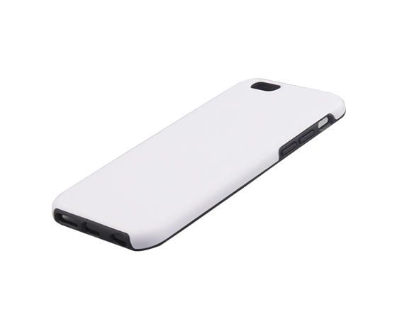 Sublimation coated 3D 2 in 1 Phone case for iPhone7
