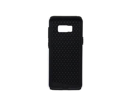 Sublimation Coated 3D 2 in 1 Phone case for Samsung S8 Plus