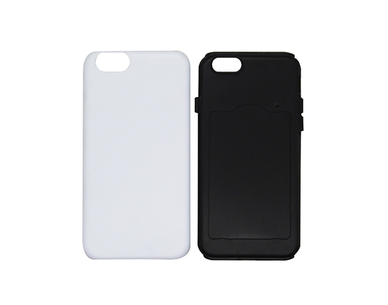 Sublimation 3D 2 in 1 Phone case for iPhone6
