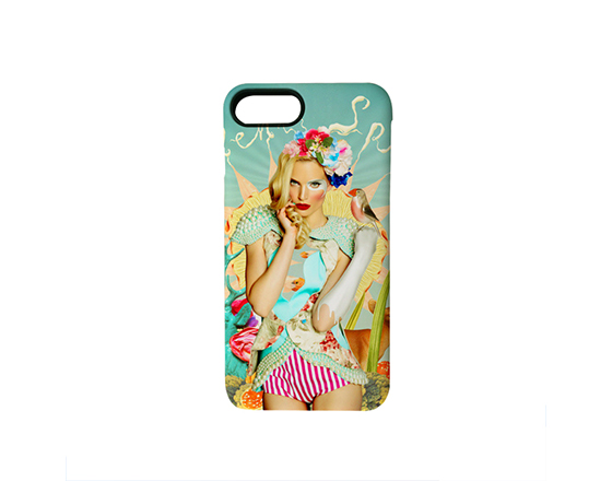 Sublimation 3D 2 in 1 Phone case for iPhone7