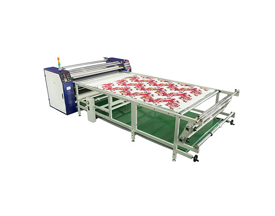 1.7 Meter Large format Rotary Transfer Heat Press Machine