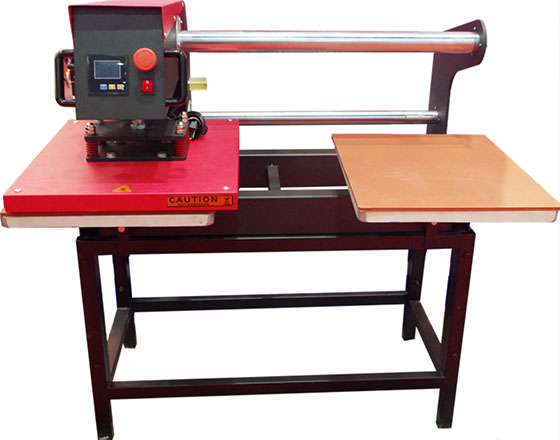 LCD Double Station Pneumatic Heat Press