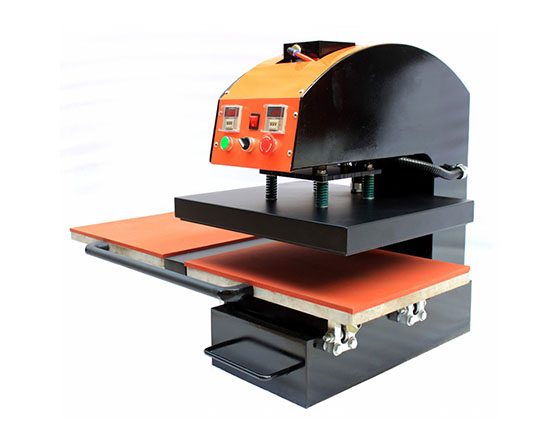 Pneumatic Double Station Heat Press Machine