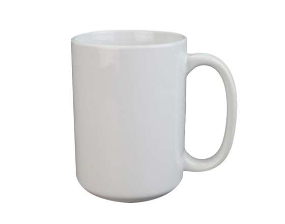 15oz White Photo Mug A