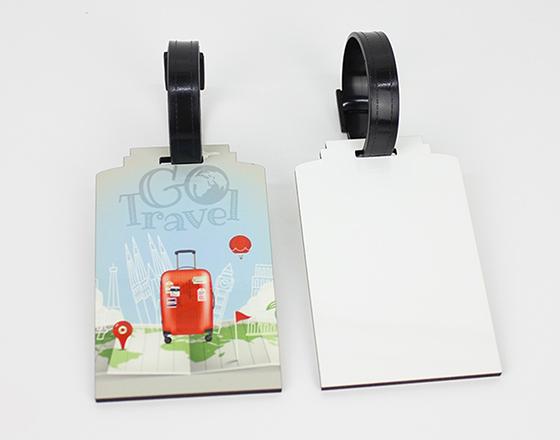 95*60*3mm MDF Luggage Tag