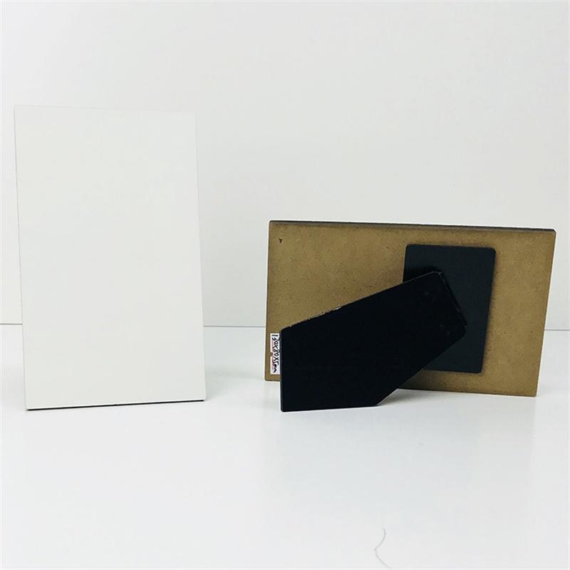Custom sublimation 130*80*5mm MDF Photo Frame Board