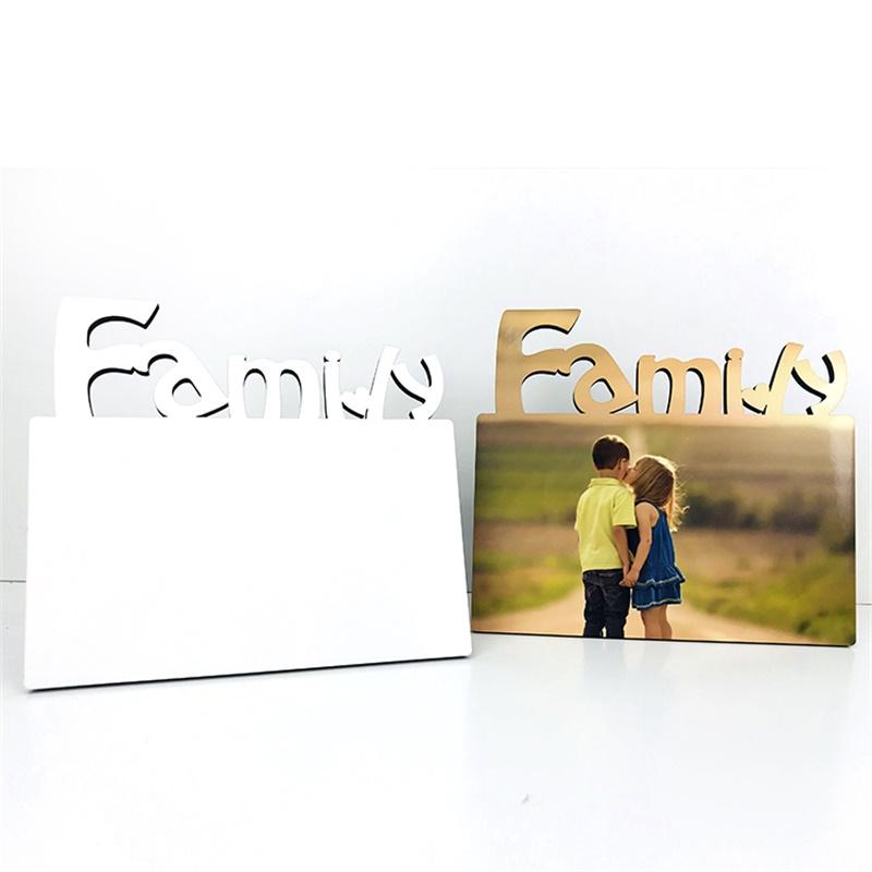 Custom sublimation 155*140*5mm MDF Photo Frame Board
