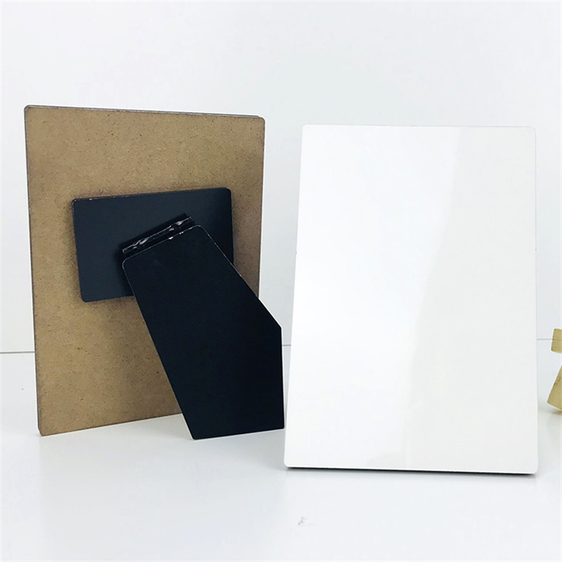 Custom sublimation 127*89*5mm MDF Photo Frame Board