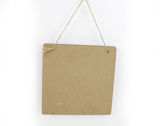 20*20cm Sublimation MDF Handing Board