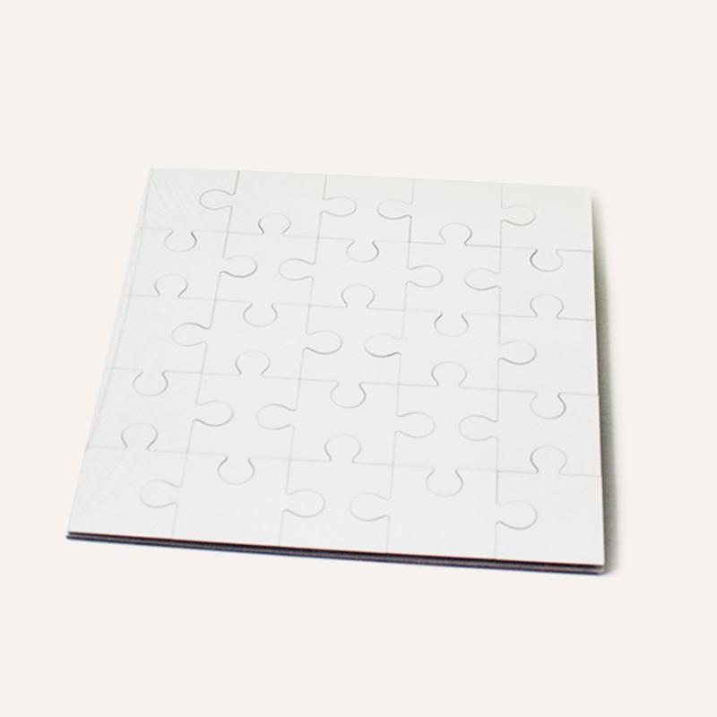 170*170*3mm MDF Puzzle