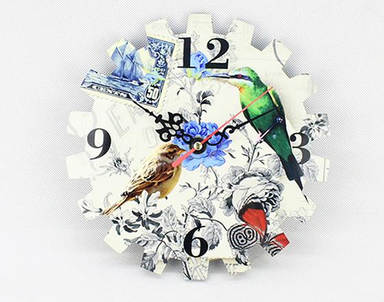 19*16.4cm Sublimation MDF Wall Clock