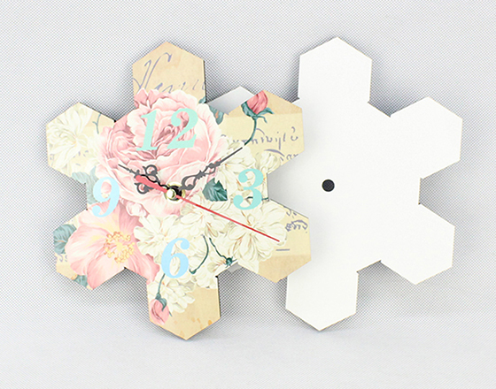 20.3*20.3cm Sublimation MDF Wall Clock