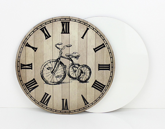 17*17cm Sublimation MDF Wall Clock