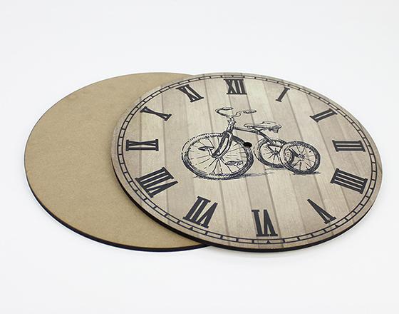 17*17cm Sublimation MDF Wall Clock