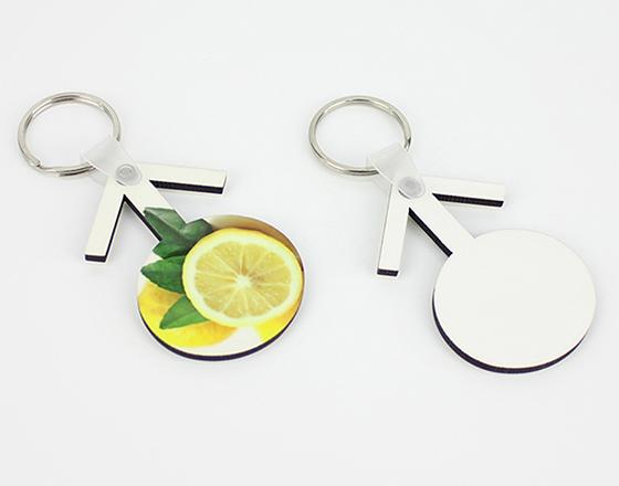 60*40*3mm  MDF Keychain