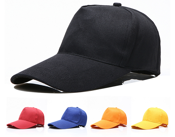 Sublimation 5 Panels Cotton Caps with Iron Buckle
