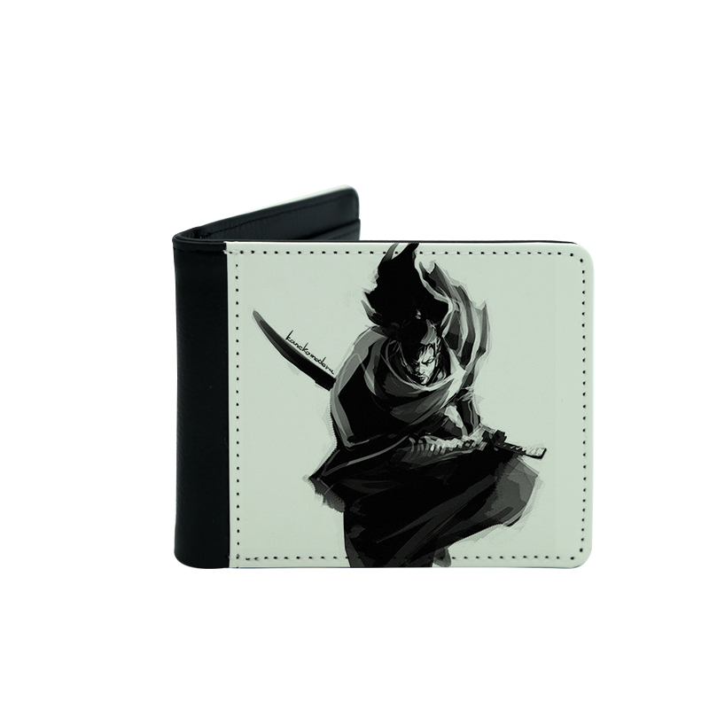 Sublimation PU Leather Men's Wallets ( One side Printing )