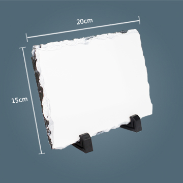 15x20cm Rectangle Sublimation Photo Slate
