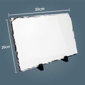 20x30cm Rectangle Sublimation Photo Slate